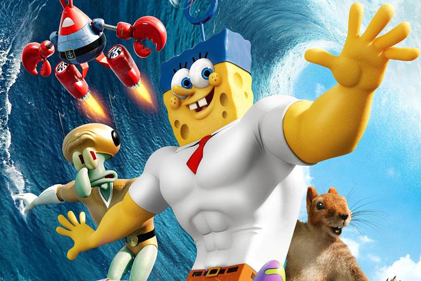 Spongebob Movie 2 Superheroes